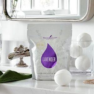 Young Living Vegan Lavender Calming Bath Bombs